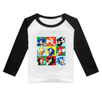 Spring Cartoon T-Shirt For Casual Tops Children Tees-thumbnail
