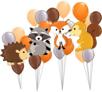 Animal Foil-Balloons & Helium Balls -Banner For Theme Party-thumbnail