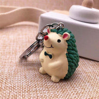 LXJERY 4 Colors Cute Cartoon Hedgehog Keychain Lovely Key Chain For Women Bag Charm Pendant Key Ring Gifts Jewelry-thumbnail