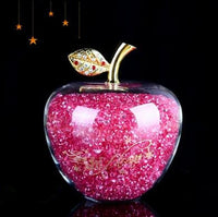 Love Gifts Apple Hollow Glass Decoration-thumbnail