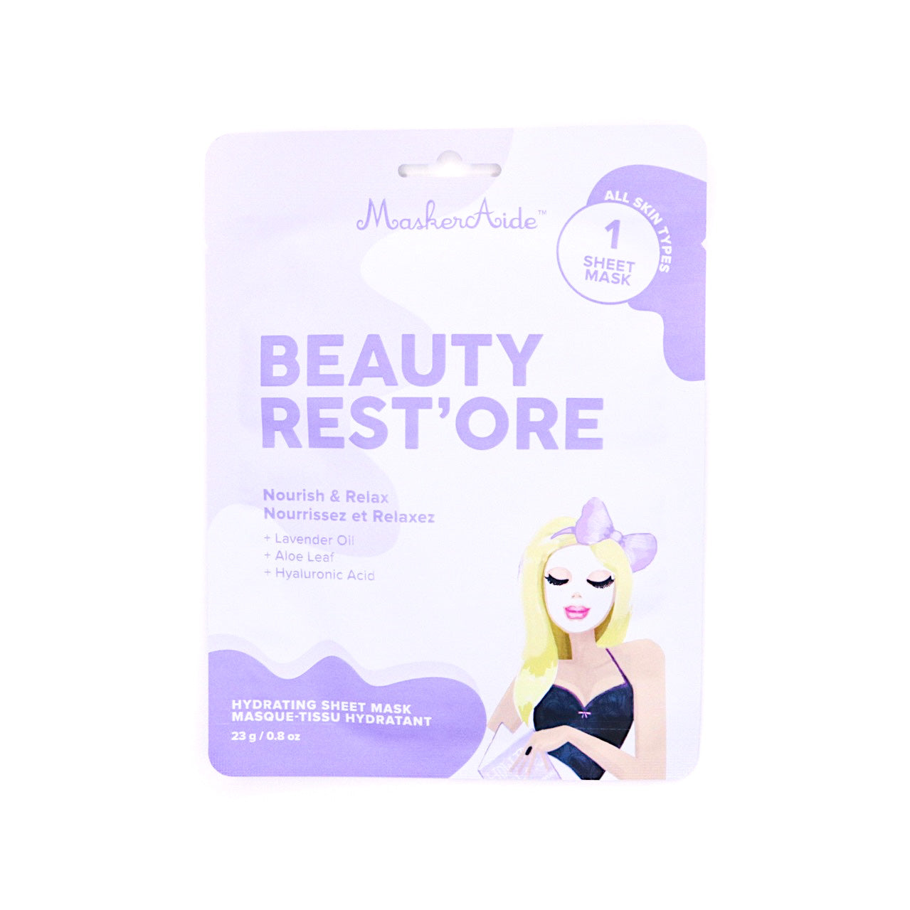 MaskerAide Beauty Rest'Ore Nourishing Sheet Mask