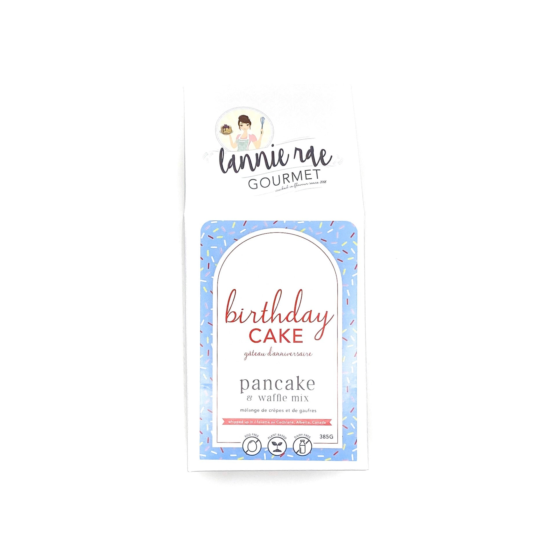 Lannie Rae Birthday Cake Blue Label Pancake Mix