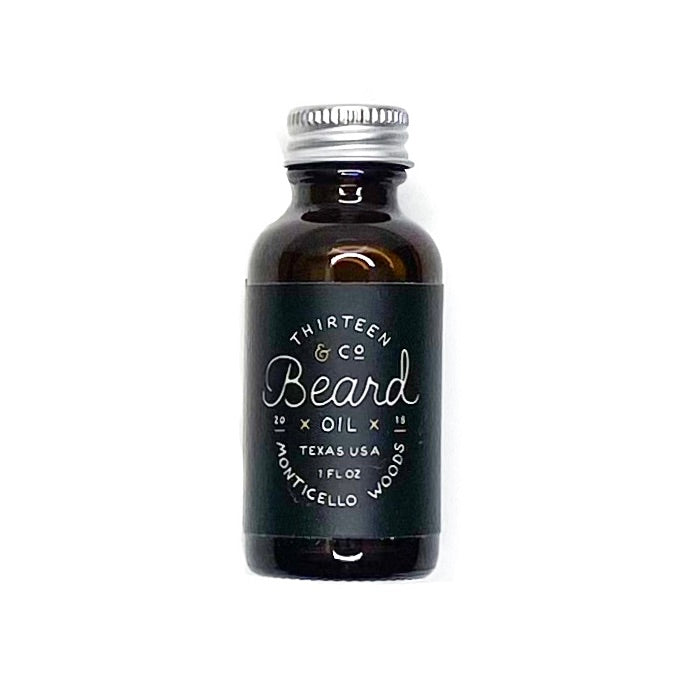 13 & Co Monticello Woods Beard Oil