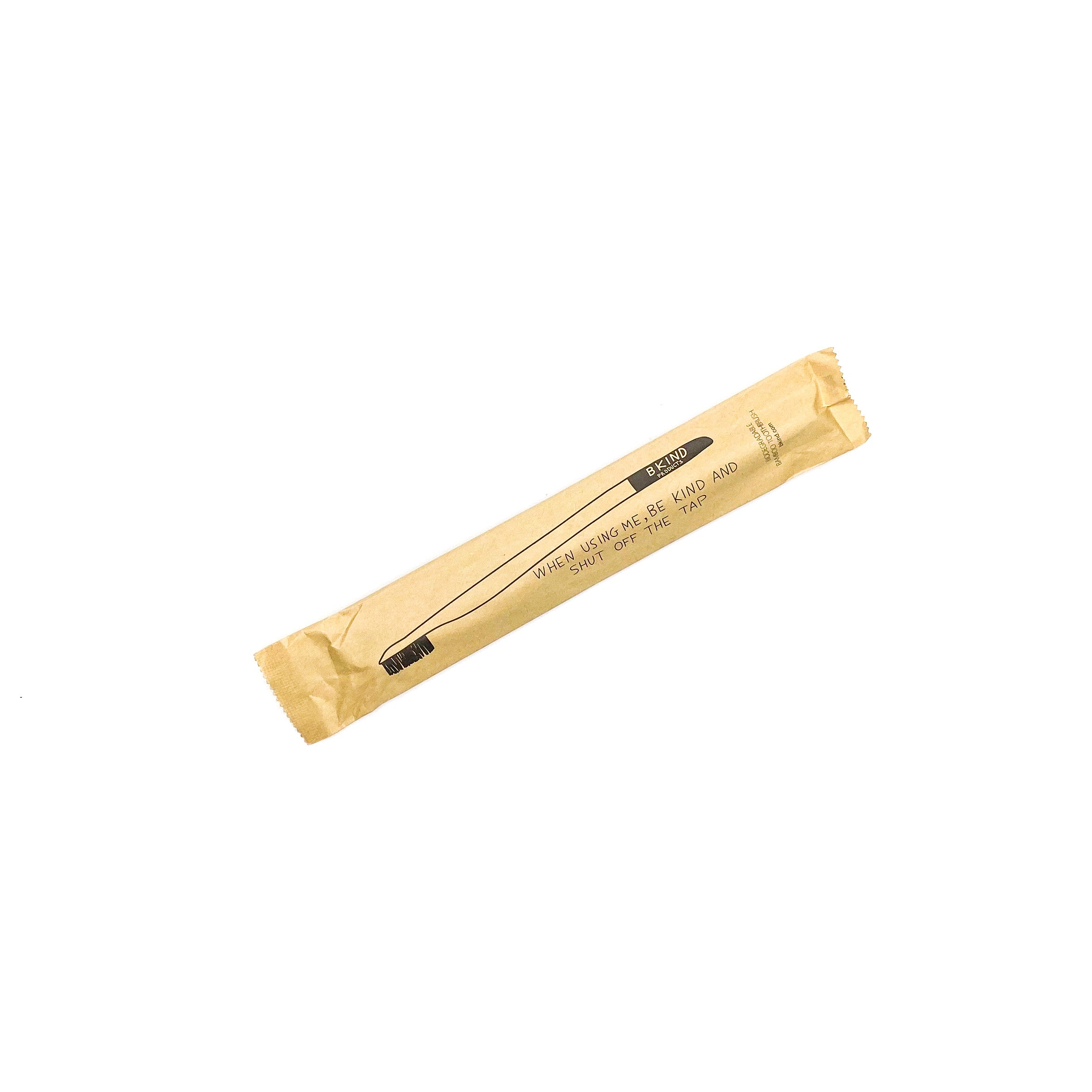 BKIND Biodegradable Bamboo Toothbrush