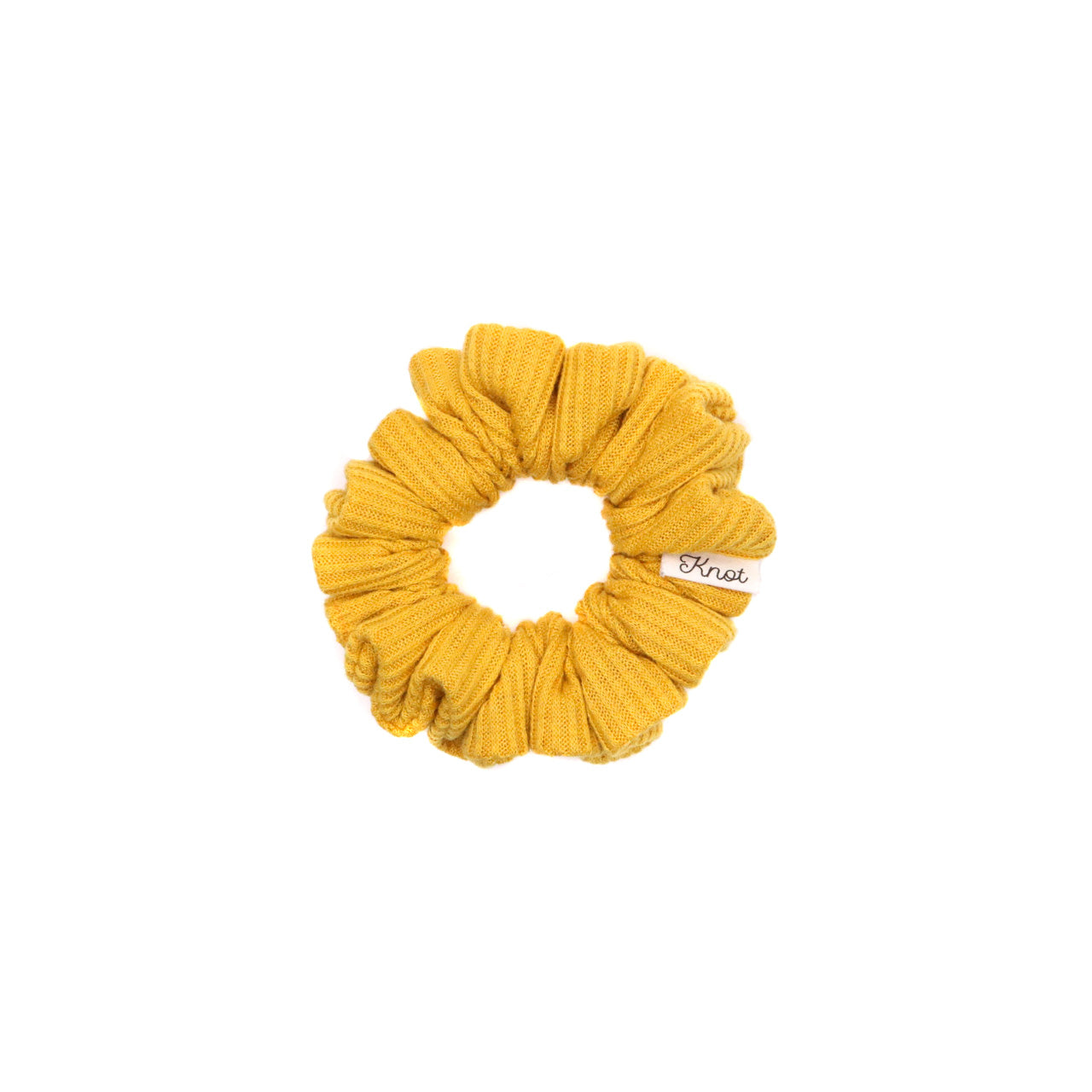 The Knot Shop Hair Scrunchie Mustard