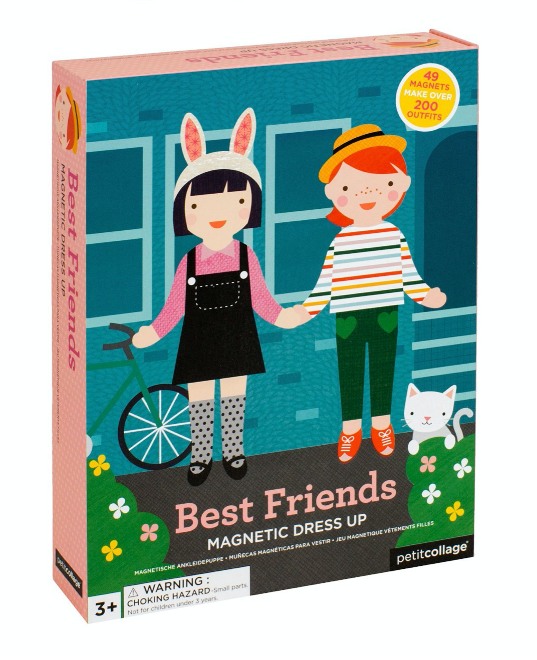 Petit Collage Magnetic Dress Up Best Friends