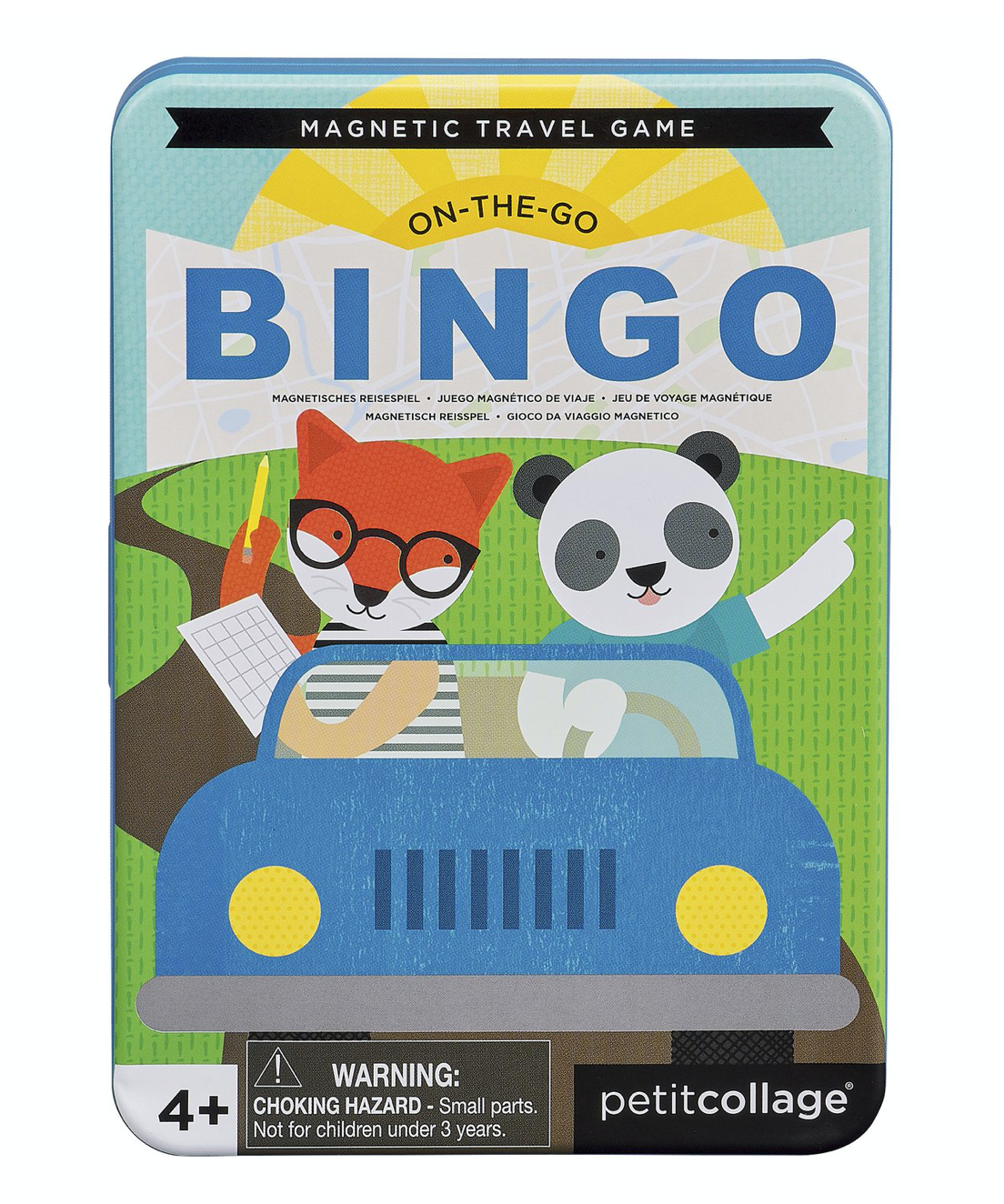 Petit Collage Magnetic Travel Bingo Game