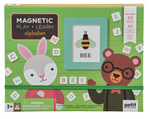 Load image into Gallery viewer, Petit Collage Magnetic Play + Learn Alphabet