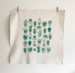 Load image into Gallery viewer, HAVYN Organic Tea Towel Succulents