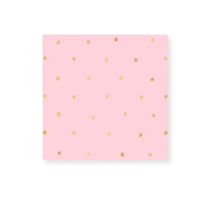 Frankie & Claude Dot Gold Foil Match Box Small