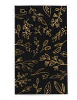 Load image into Gallery viewer, Frankie & Claude Black & Gold Foil Floral Match Box Large