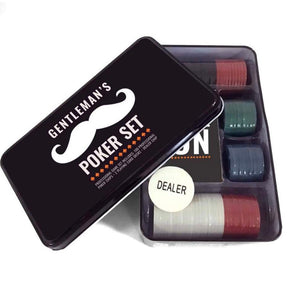Mad Men Professional Poker in a Tin Set