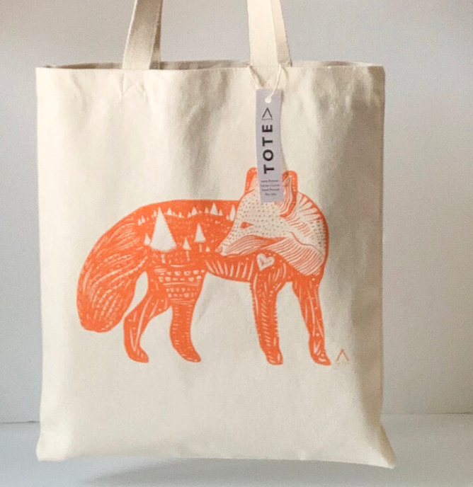 HAVYN Every Day Canvas Tote Bag Fox