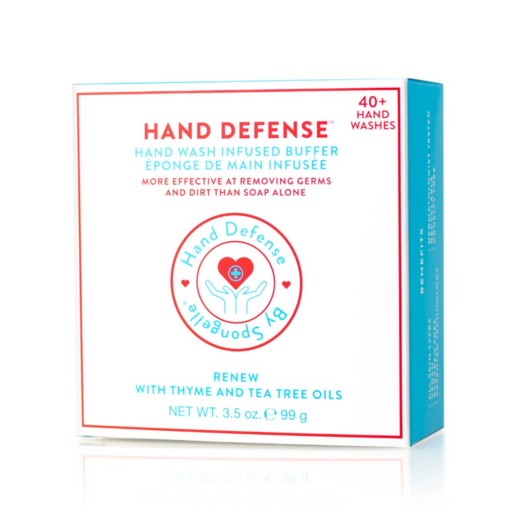 Spongelle Renew Hand Defense 40+ Washes