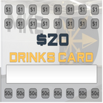 Drinks card - Primal MKE