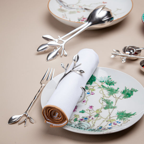 Blue Leaves - Serving Set (Branch)
