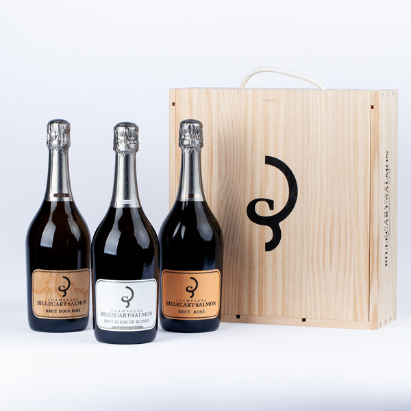 Champagne Billecart-Salmon - 3 Bottles Gift Set