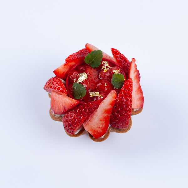 Local Honey & Strawberry Tart (Box of 2)