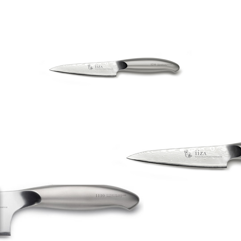Iiza - Petty 105 (Stainless Steel Handle)