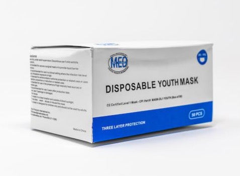Medical Grade Level 1 YOUTH Disposable Mask