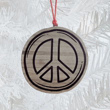 Load image into Gallery viewer, Peace Tag Ornament