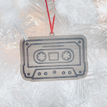 Load image into Gallery viewer, Cassette Tape Tag Ornament