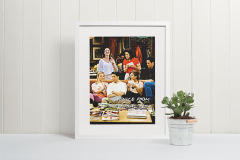 Friends | Poster Personalizable Con Tu Dibujo