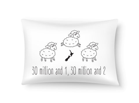 Moana Rd Single Pillowcases - Counting Sheep  100% Cotton.