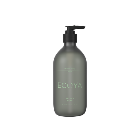 ECOYA French Pear Hand & Body Wash 450ml
