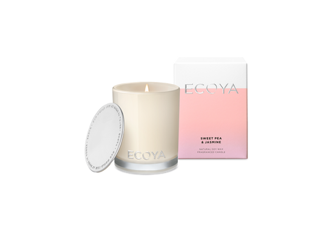 ECOYA Sweet Pea & Jasmine Mini Madison Candle 80g
