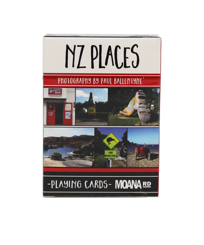 Moana Rd Playing Cards - NZ Places