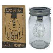 Moana Rd Moana Road Mason Jar Light - Solar