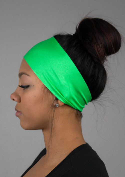 Granny Smith Green No Slip Yoga Headband