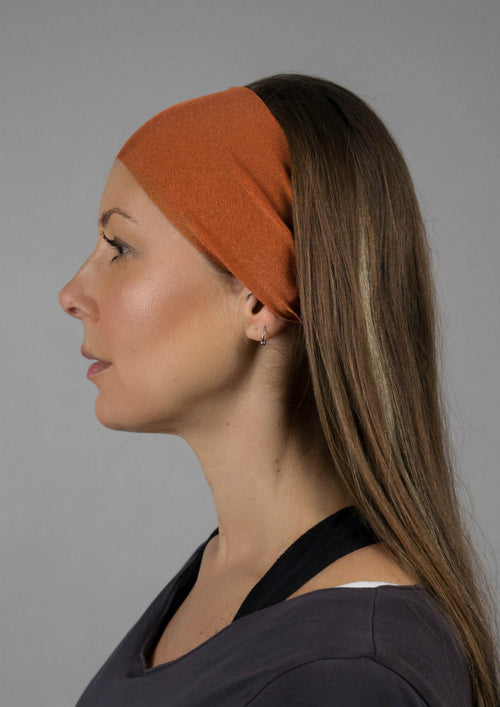Copper No Slip Yoga Headband
