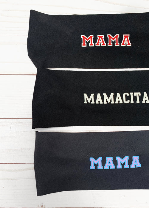 Mama Antimicrobial Yoga Headbands