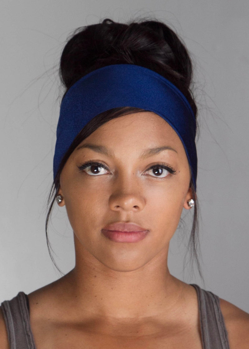 Twilight Blue No Slip Yoga Headband