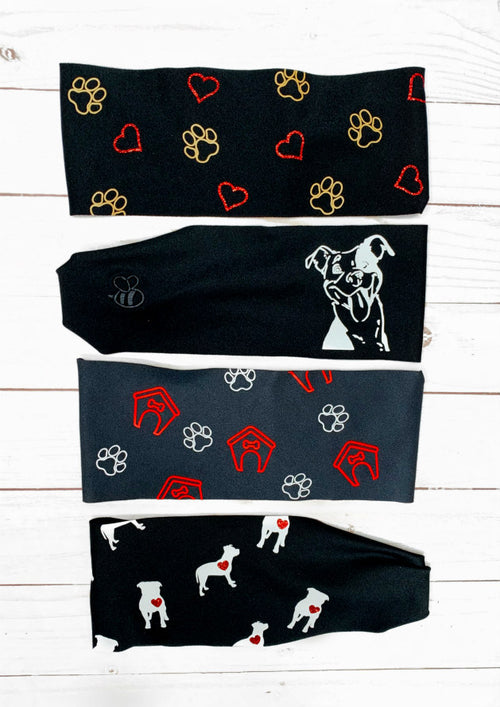 Dog Rescue Antimicrobial Yoga Headband