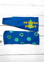 Earth Day Antimicrobial Yoga Headband