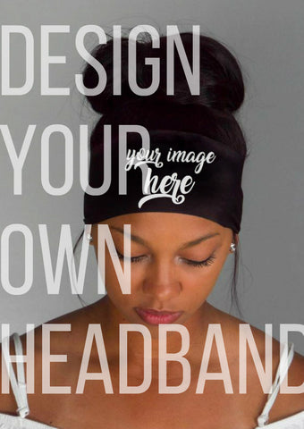 design your own headband!