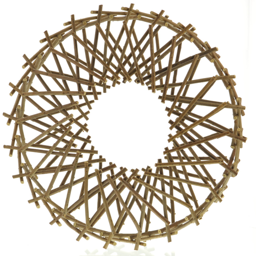 Expanding Willow Wreath - Natural
