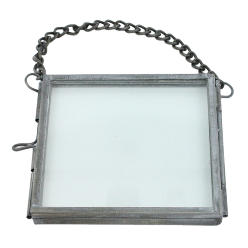 Pierre Ornament Frame - 3x3 Zinc