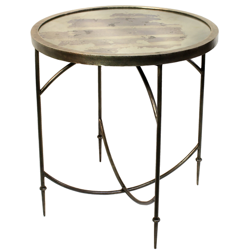 Carrefour Mirrored Side Table