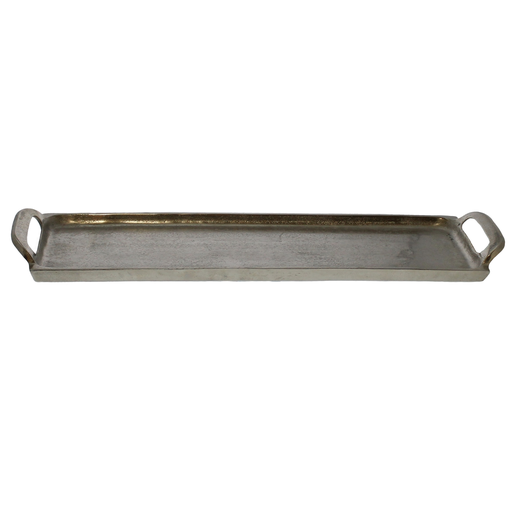Abbott Tray, Nickel - Lrg
