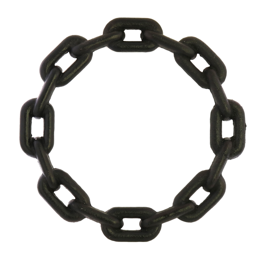 Chain Trivet, Cast Iron - Lrg - Black