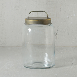 Archer Canister with Metal Lid - Med