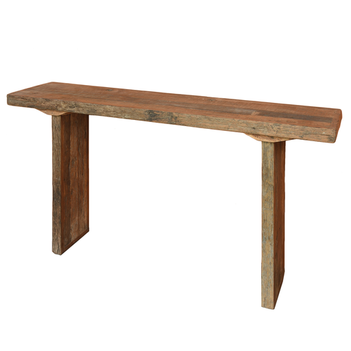 Arcadia Console Table, Reclaimed Wood