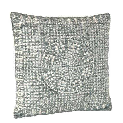 Wyatt Pillow 16x16 - Sky Grey