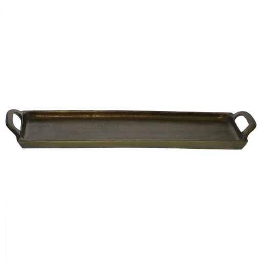 Abbott Tray, Brass  - Med