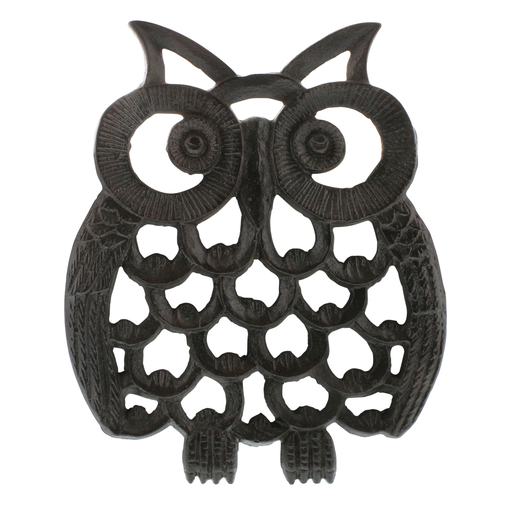 Owl Trivet - Cast Iron