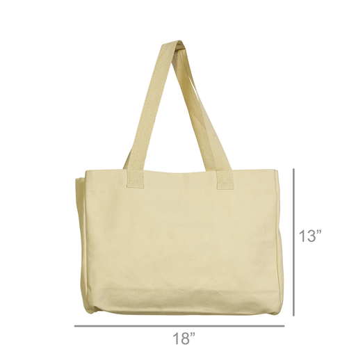 Beach Tote, Canvas - Blank